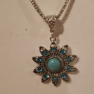 Torquoise  neclace (buy 2 get a free gift)
